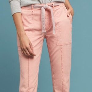 Pink pants from Anthropologie. Never been worn!!